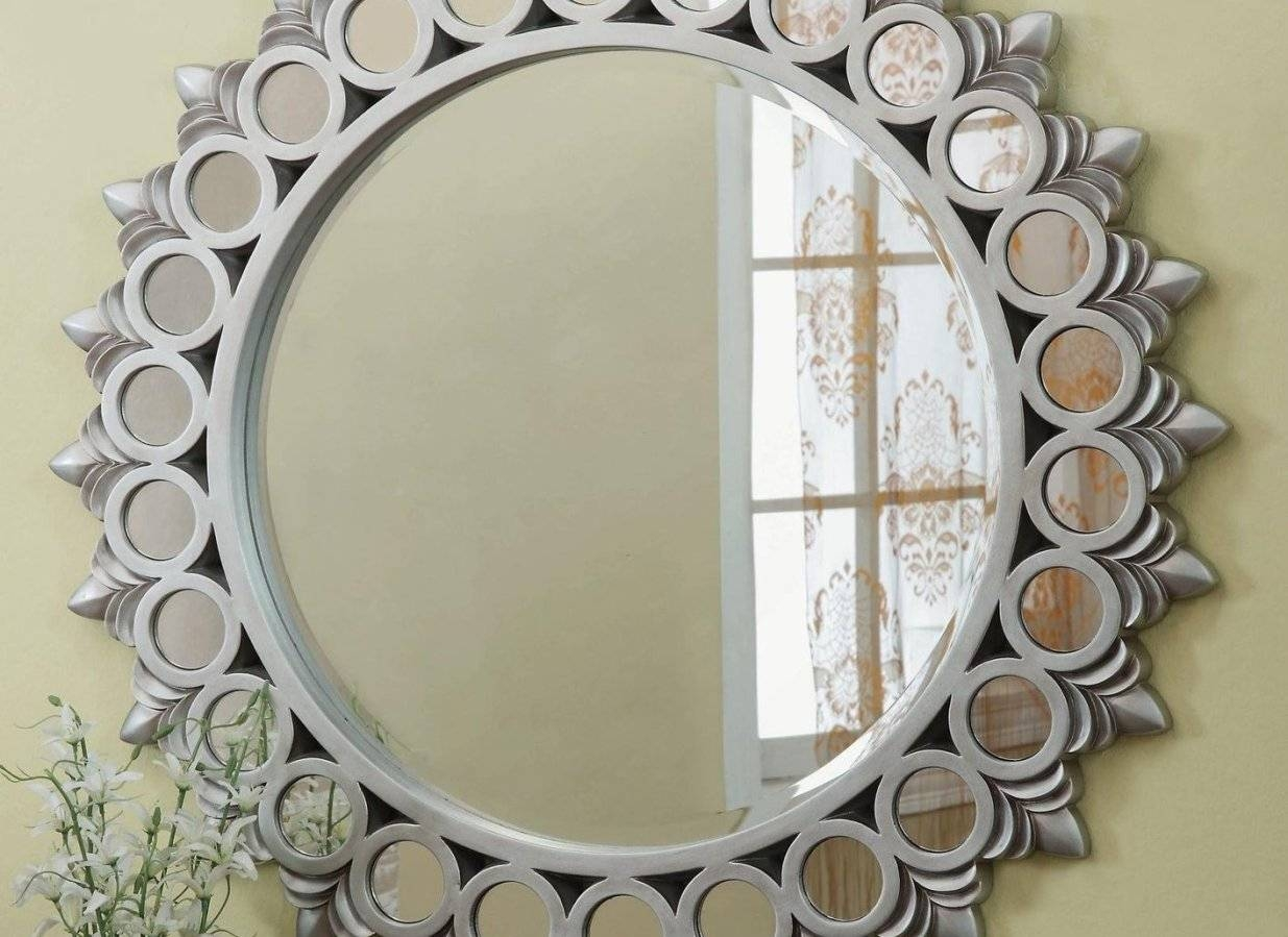 Mirror : Oil Rubbed Bronze Mirror 78 Stunning Decor With Oil throughout Large Round Metal Mirrors (Image 12 of 15)