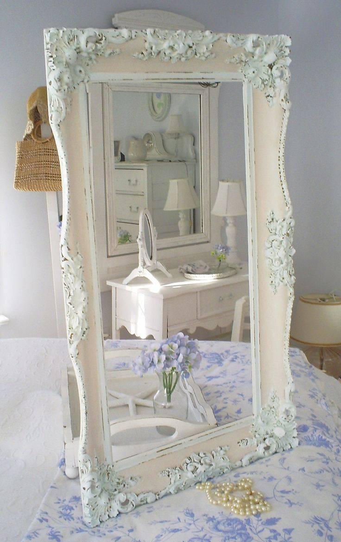 Mirror : Olympus Digital Camera Big Shabby Chic Mirrors Dreadful with regard to Big Shabby Chic Mirrors (Image 10 of 15)
