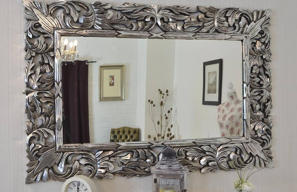 Mirror : Ornate Bathroom Mirrors Uk Awesome Huge Ornate Mirror within Huge Ornate Mirrors (Image 12 of 15)