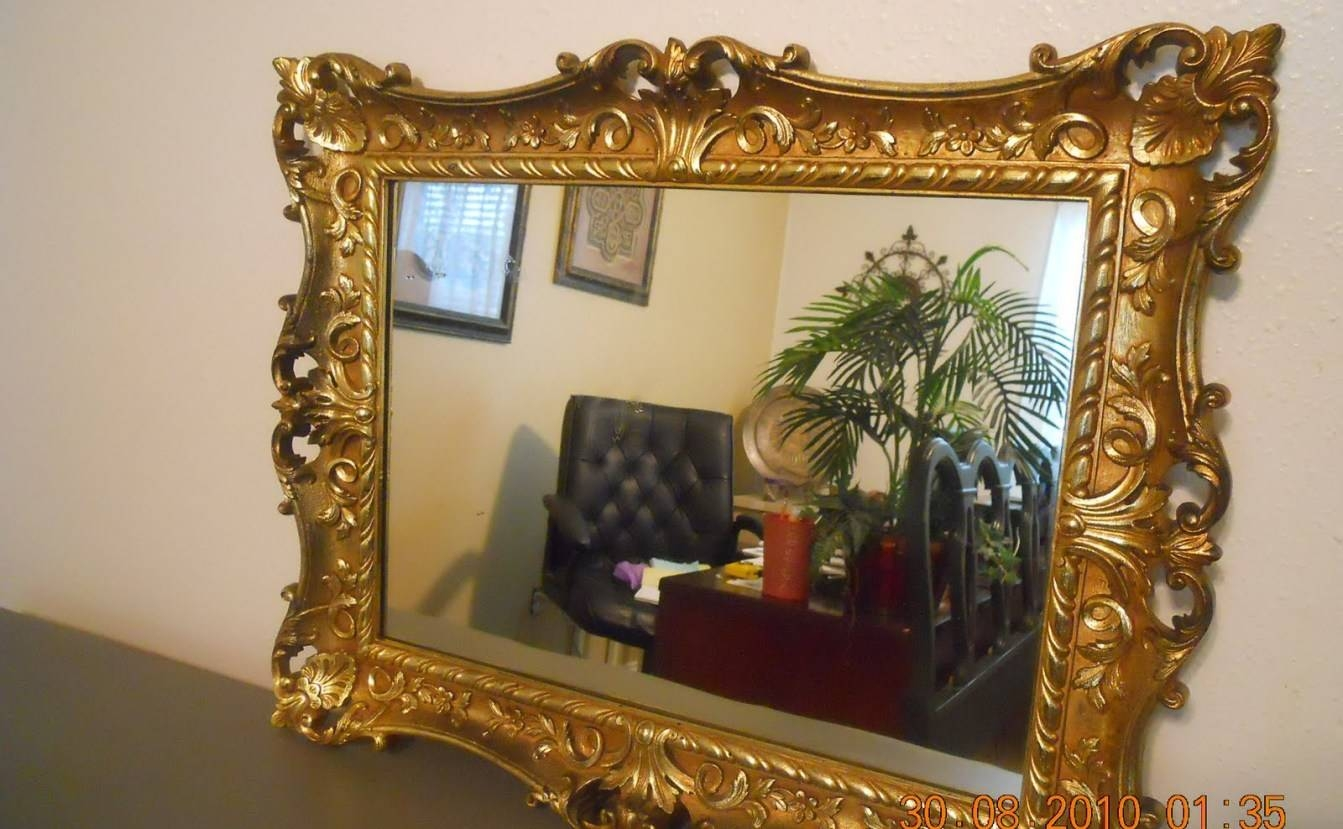 Mirror : Ornate Mirrors For Sale 61 Beautiful Decoration Also With Ornate Gilt Mirrors (View 6 of 15)