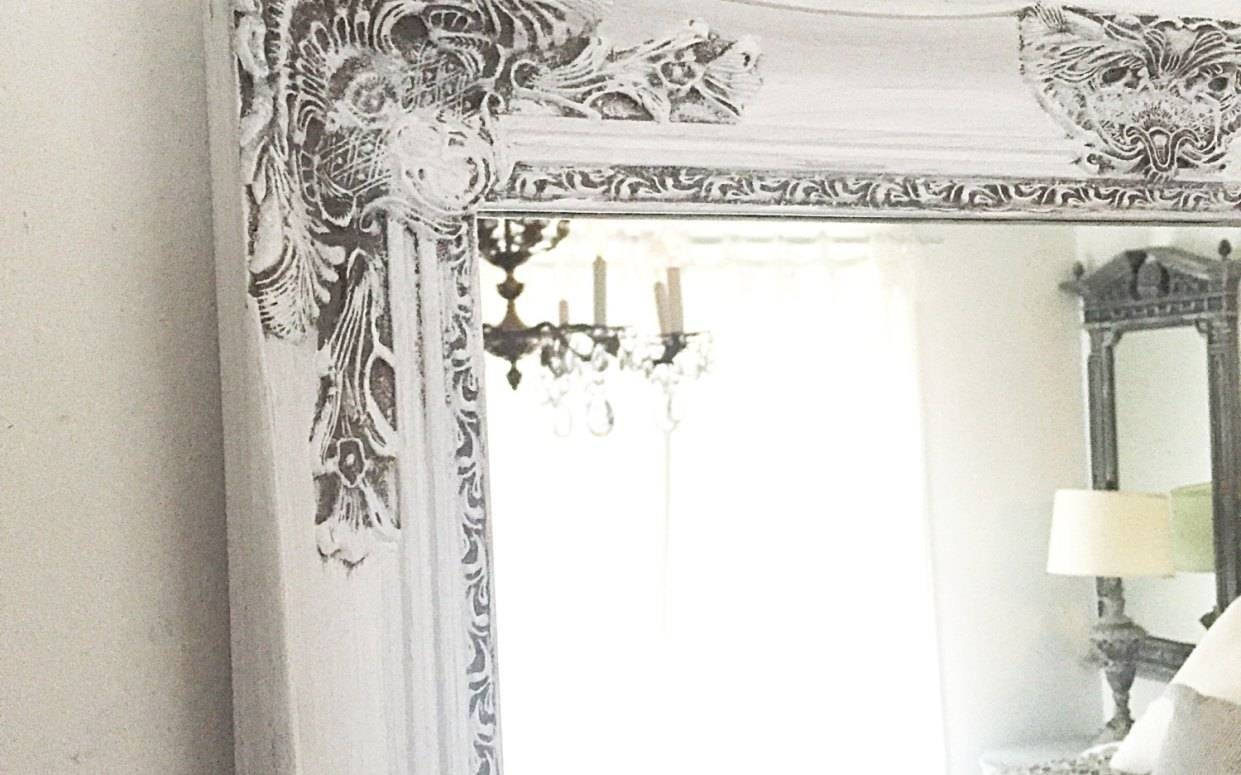 Mirror : Prodigious Shabby Chic Bathroom Mirror With Shelf Inside Shabby Chic Bathroom Mirrors (View 7 of 15)