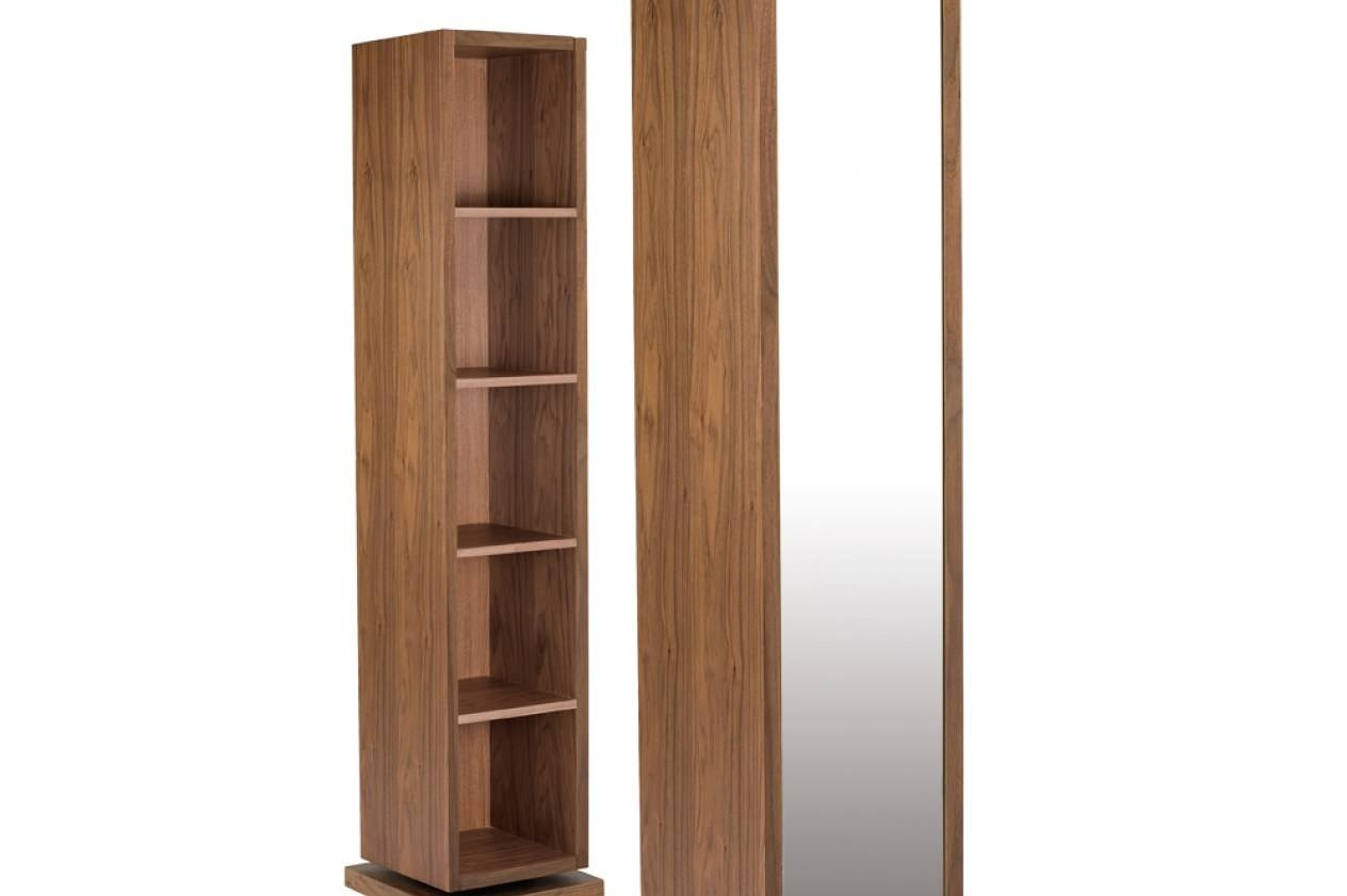 Mirror : Rotating Shoe Storage With Mirror Stunning Free Standing inside Free Standing Oak Mirrors (Image 14 of 15)