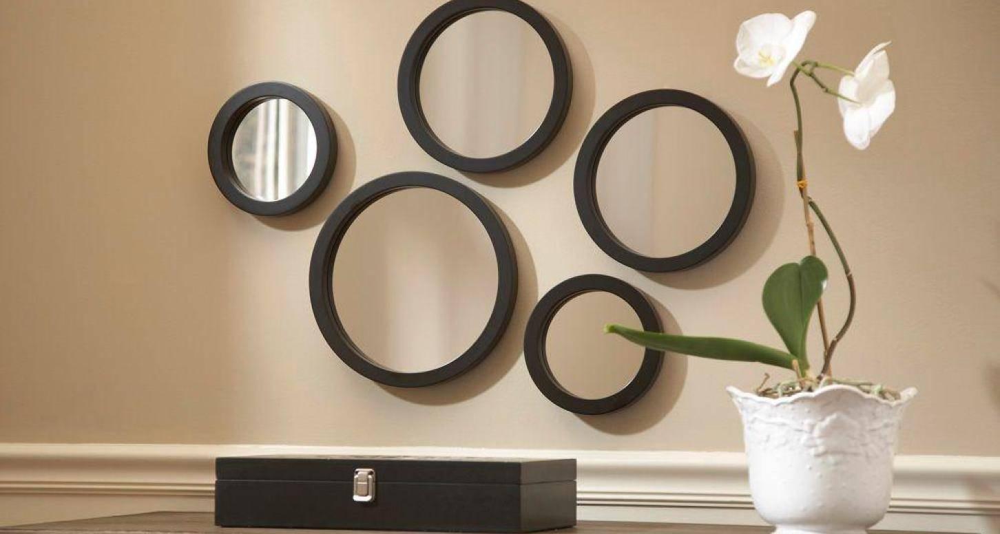 Mirror : Round Wall Mirror Sets Stunning Mirror Circles For Walls within Mirrors Circles For Walls (Image 13 of 15)