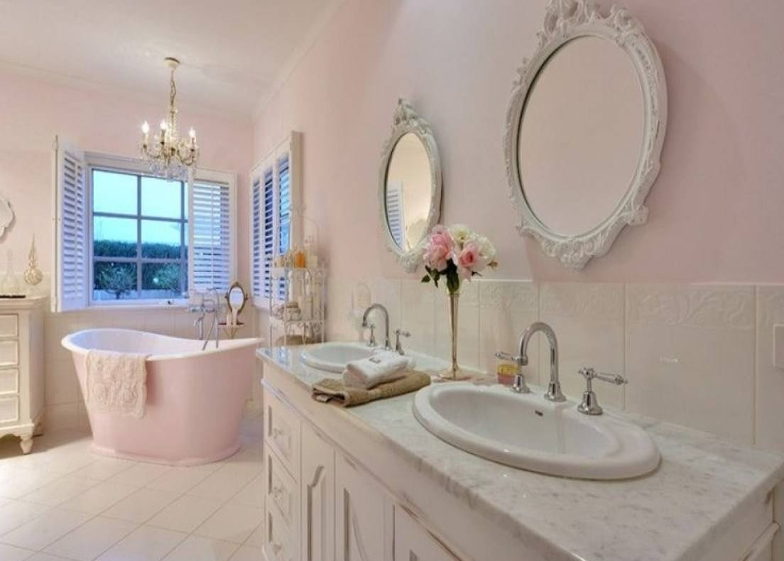 Mirror : Shabby Chic Bathroom Mirror 42 Awesome Exterior With Regarding Shabby Chic Bathroom Mirrors (View 8 of 15)