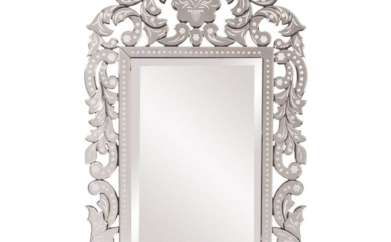 Mirror : Shabby Chic Mirror Large Mirror Bathroom Wonderful White with Ornate Floor Length Mirrors (Image 14 of 15)