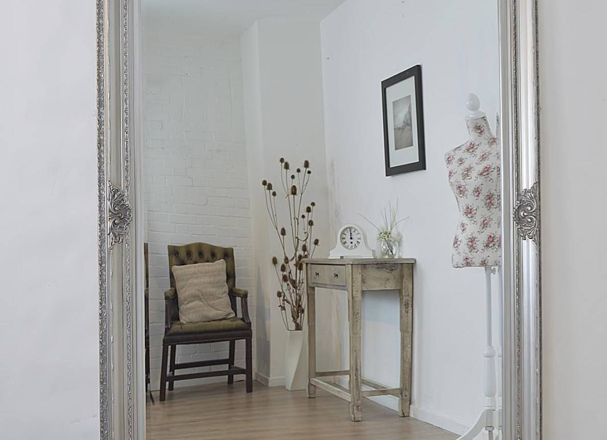 Mirror : Shabby Chic Mirrors Wonderful Free Standing Shabby Chic Pertaining To Free Standing Shabby Chic Mirrors (View 3 of 15)