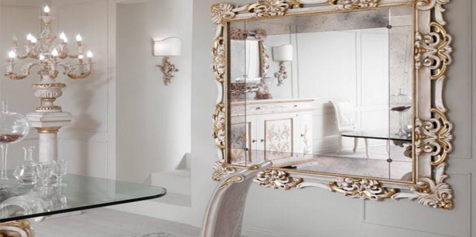 Mirror : Shabby Chic Mirrors Wonderful Large Black Ornate Mirror within Big Shabby Chic Mirrors (Image 12 of 15)