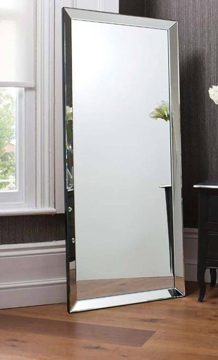Mirror : Stand Alone Mirror Infinity Modern Bedroom Mirror S L regarding Full Length Stand Alone Mirrors (Image 9 of 15)