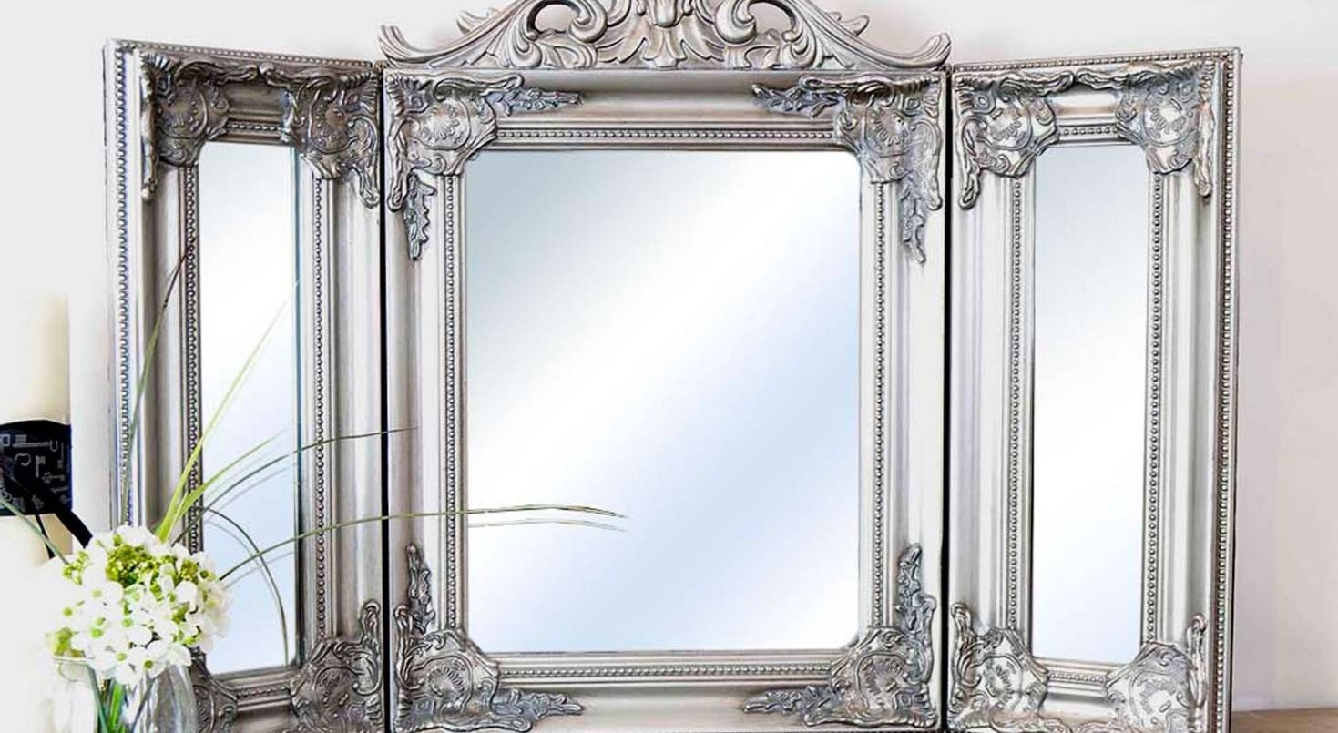 Mirror : Stunning Antique Design Free Standing Dressing Table Within Free Standing Dressing Table Mirrors (View 7 of 15)