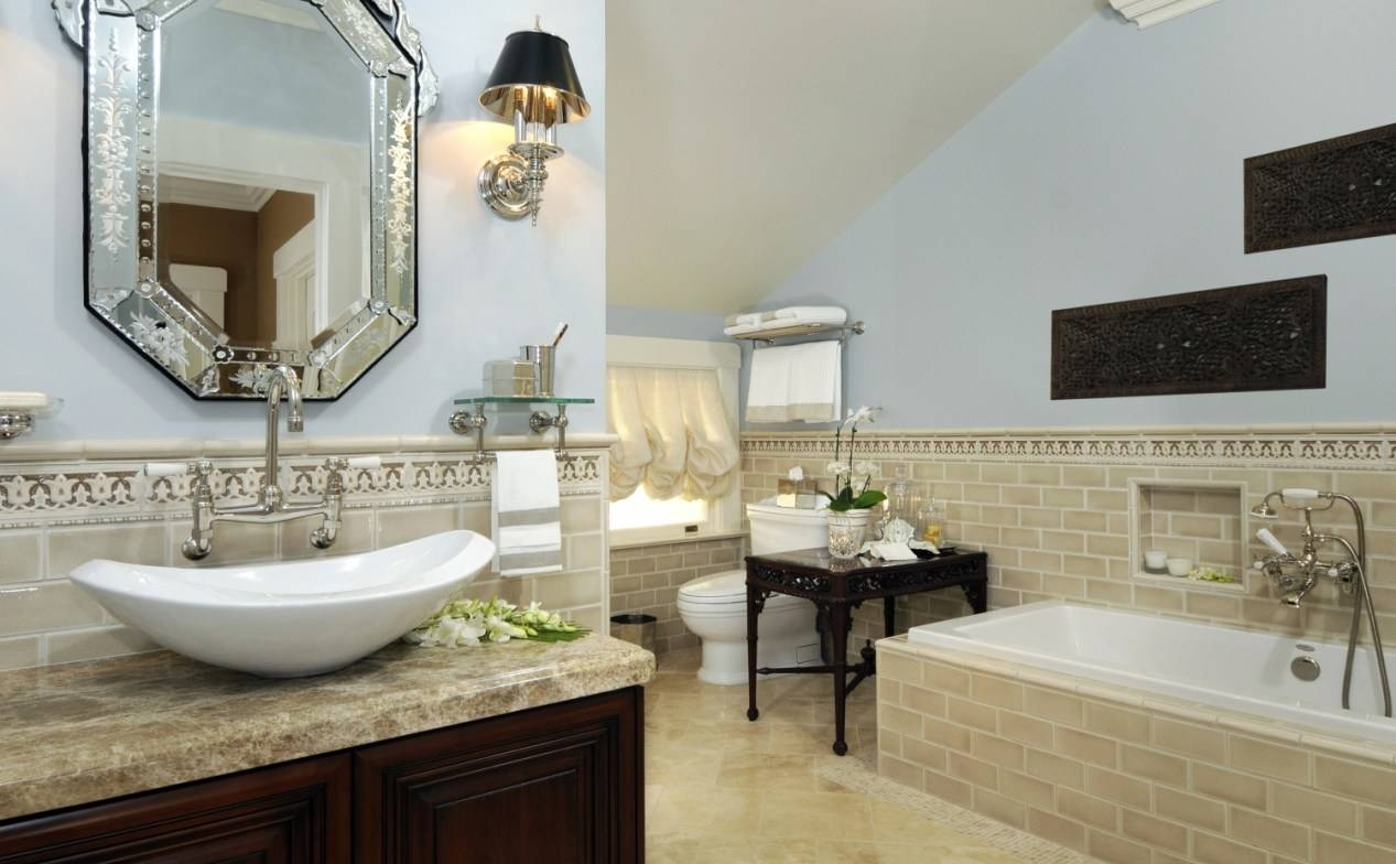 Mirror : Stunning Venetian Bathroom Mirror Bathroom Mirror Led With Venetian Beaded Mirrors (View 11 of 15)