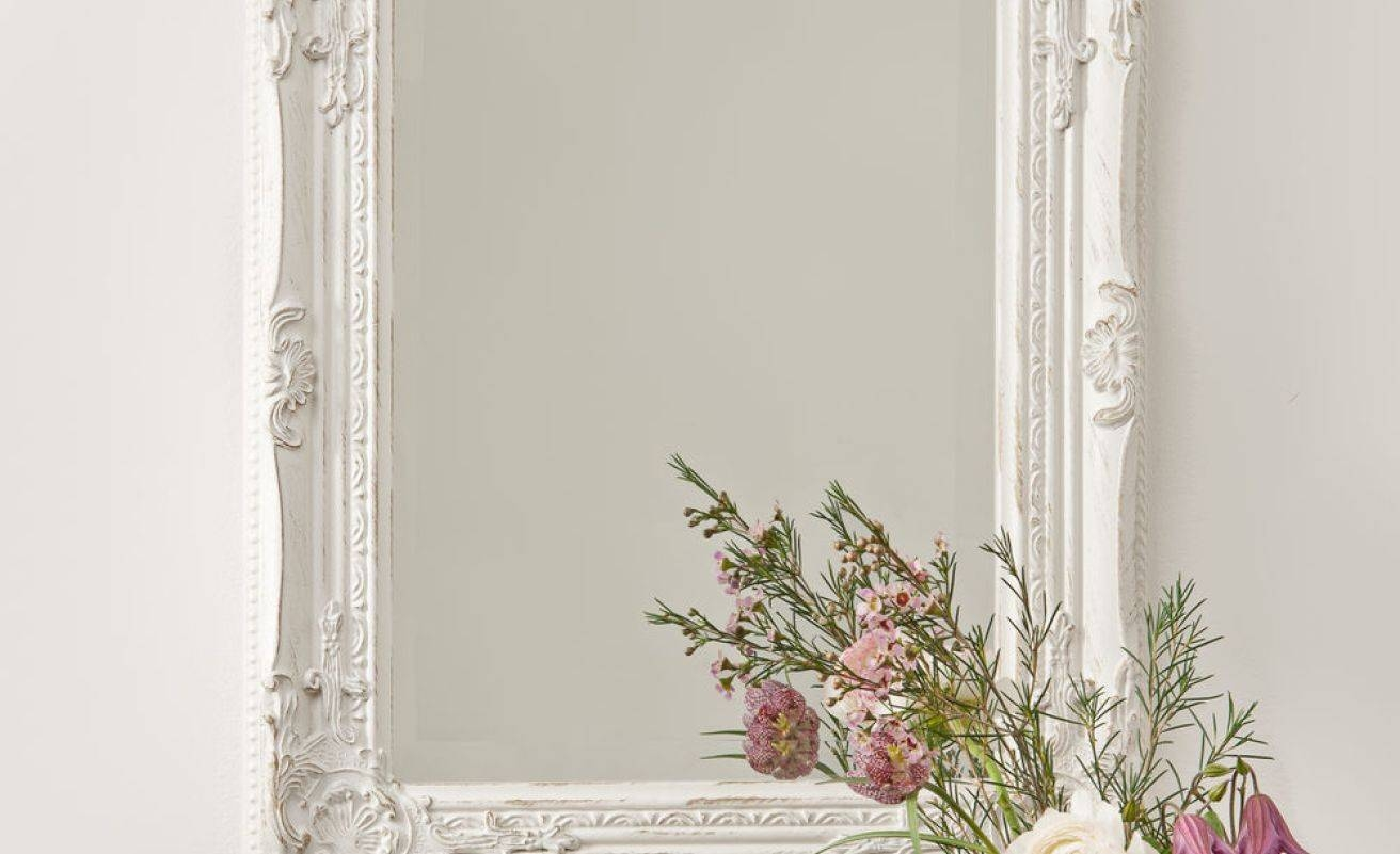 Mirror : Unique Mirrors For Living Room Stunning Antique Cream with regard to Antique Cream Wall Mirrors (Image 15 of 15)