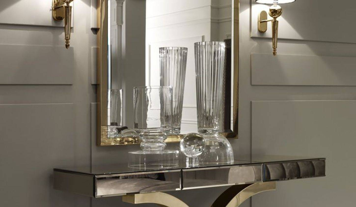 Mirror : Wall Mirror With Table 48 Beautiful Decoration Also Throughout Decorative Table Mirrors (View 12 of 15)