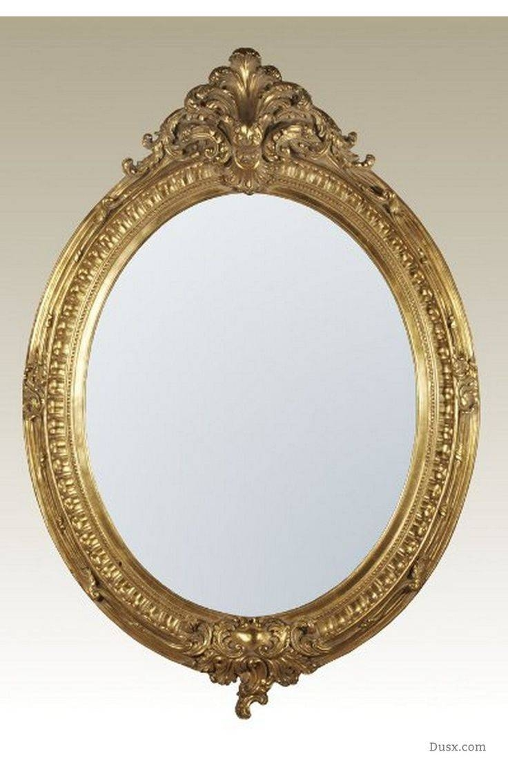 Mirror : What Is The Style French Rococo Mirrors Stunning Oval With Regard To French Rococo Mirrors (View 14 of 15)