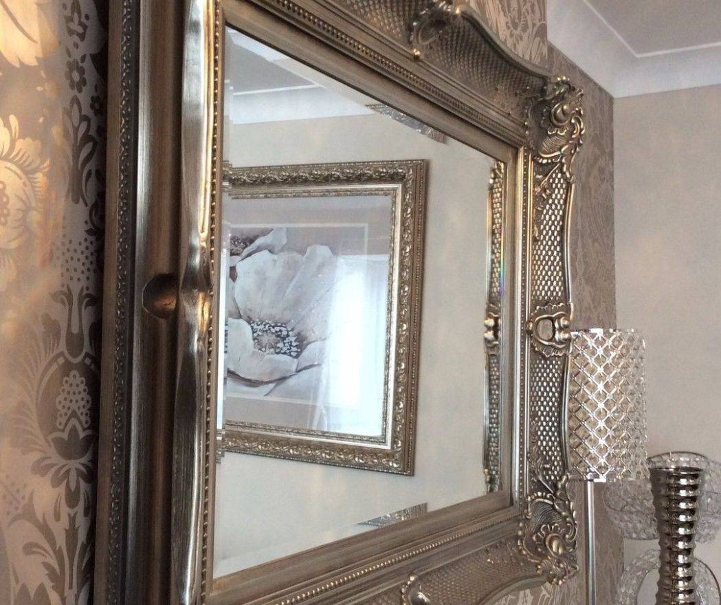 Mirror : What Is The Style French Rococo Mirrors Wonderful Gold pertaining to Large Ornamental Mirrors (Image 12 of 15)