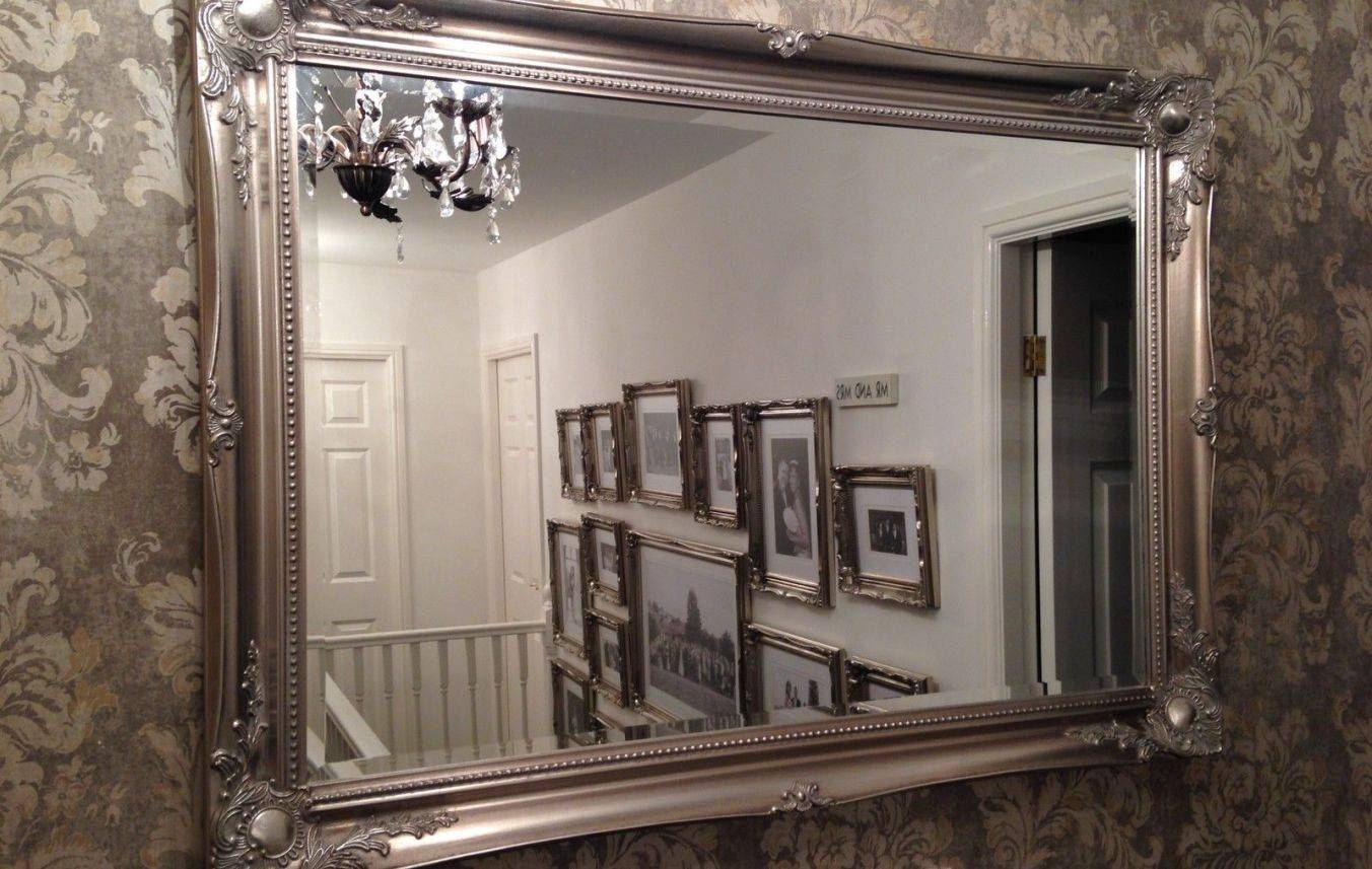 Mirror : Wonderful Extra Large Gold Decorative Antique Full Length In Antique Full Length Wall Mirrors (View 14 of 15)