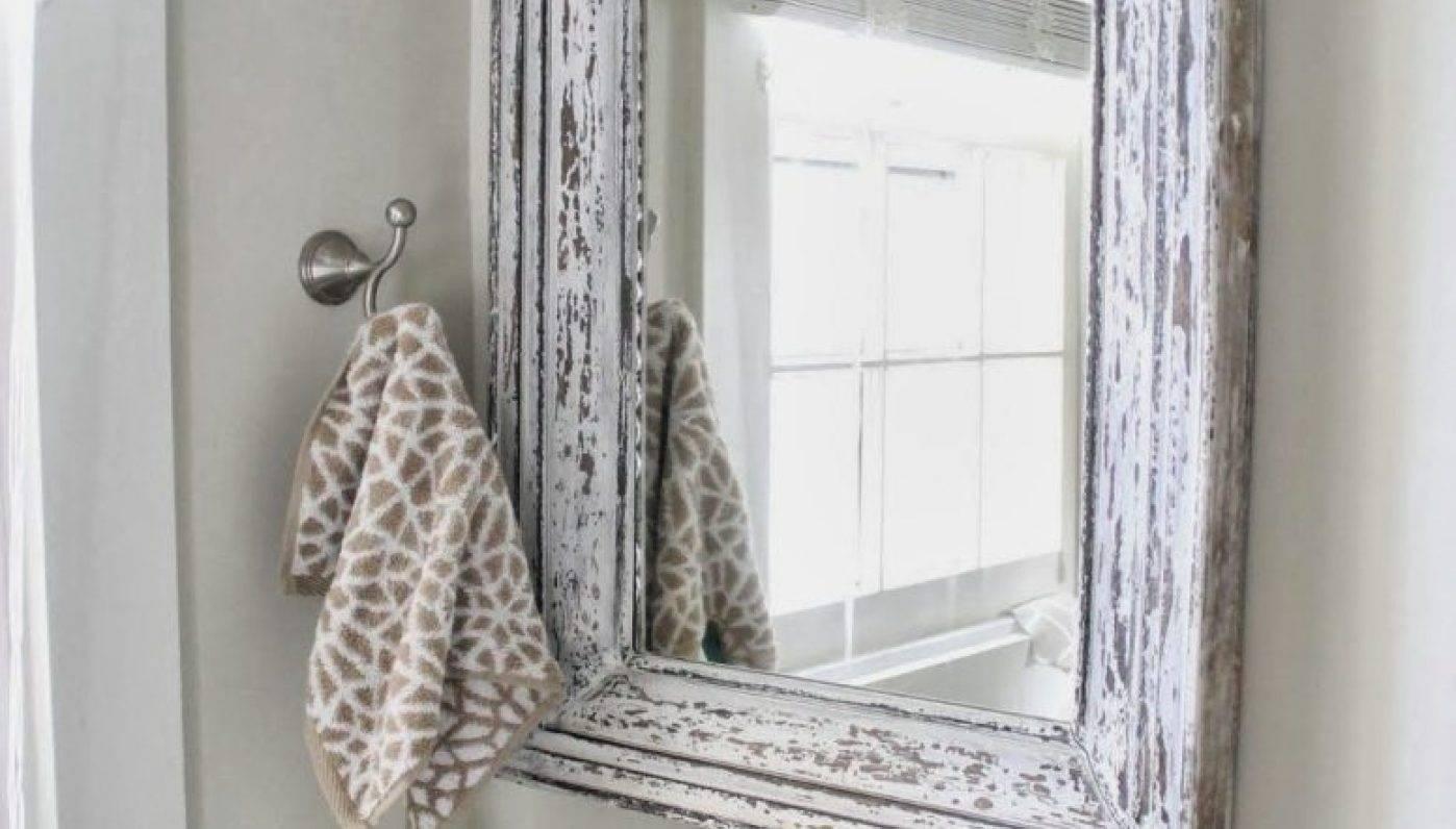 Mirror : Wonderful Free Standing Shabby Chic Mirror Charleston throughout Free Standing Shabby Chic Mirrors (Image 12 of 15)