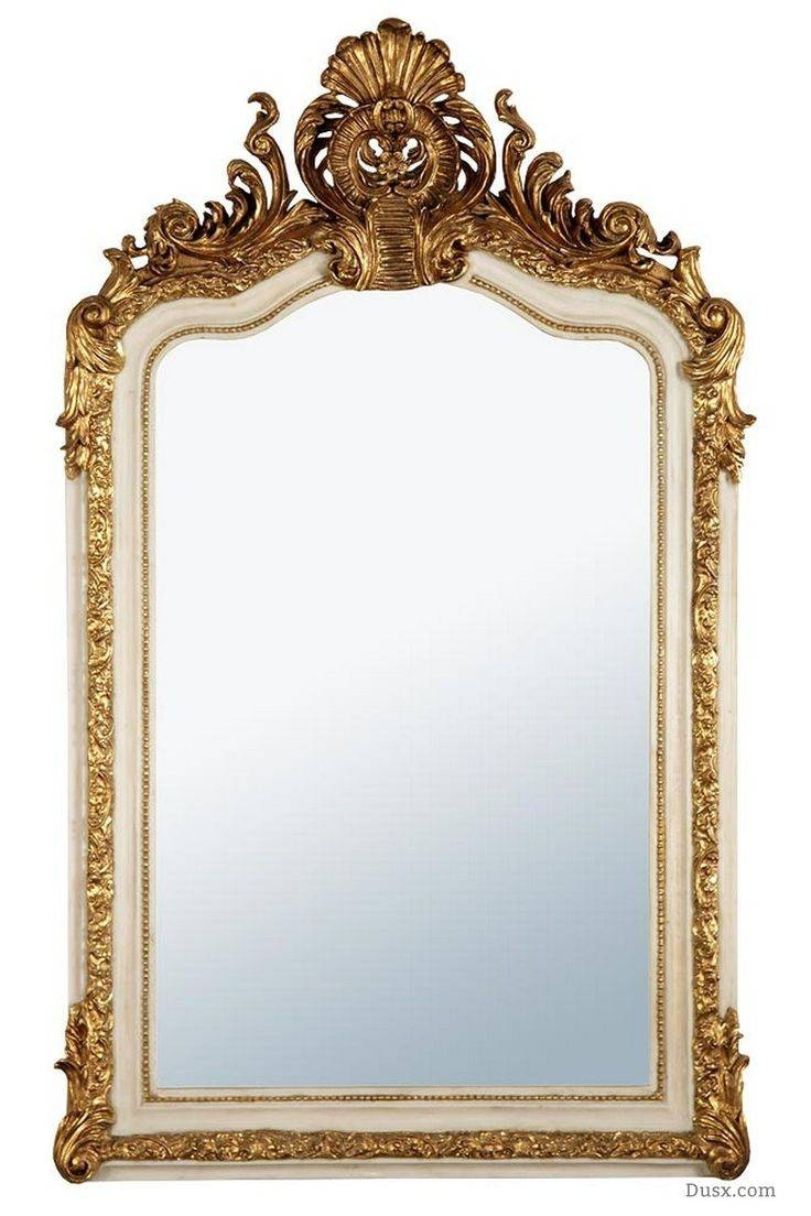 Mirror : Wonderful Rococo Mirrors French Rococo Oval Mirror With throughout Large Rococo Mirrors (Image 14 of 15)