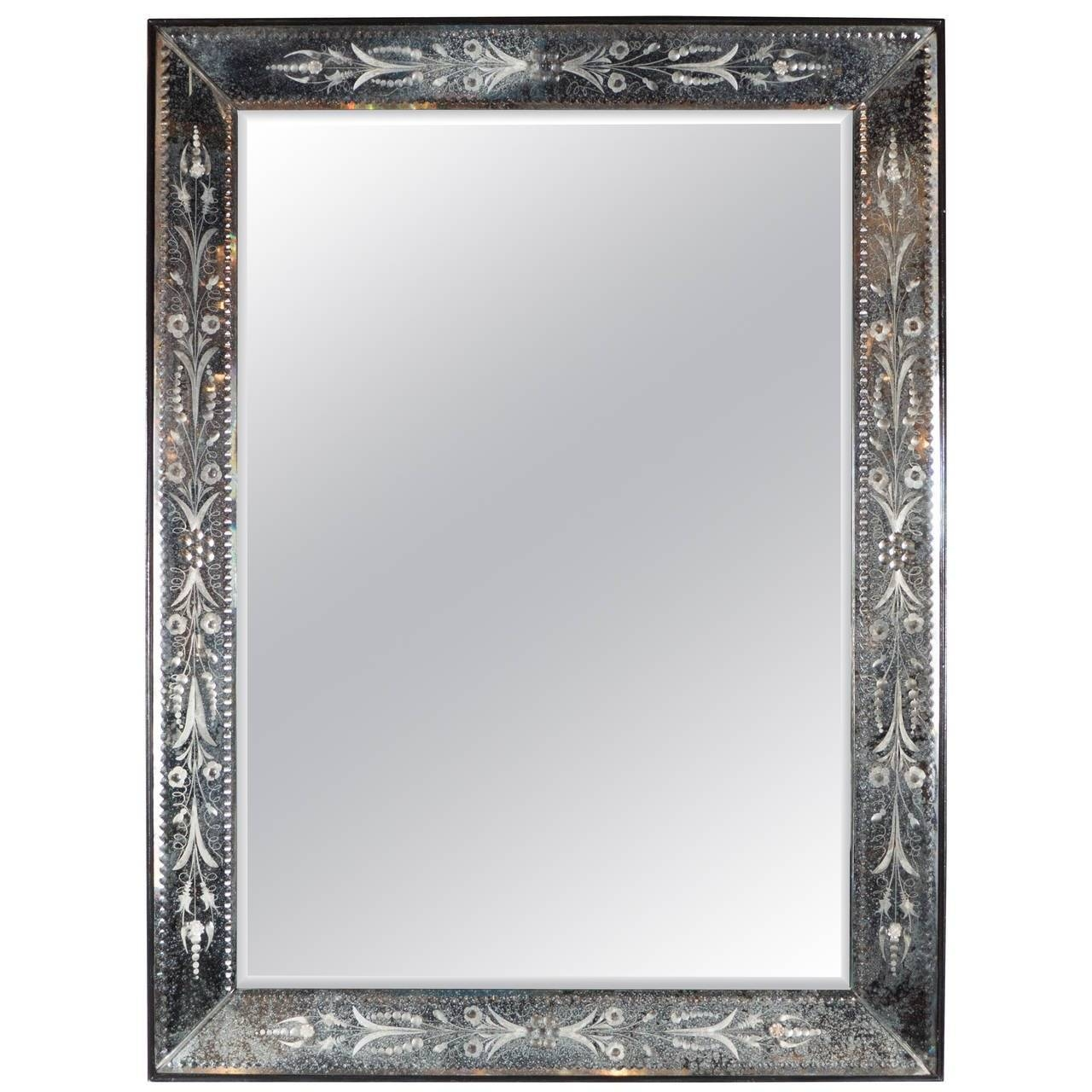 Mirror : Wonderful Tall Venetian Mirror Rectangular Venetian With Regard To Rectangular Venetian Mirrors (View 2 of 15)