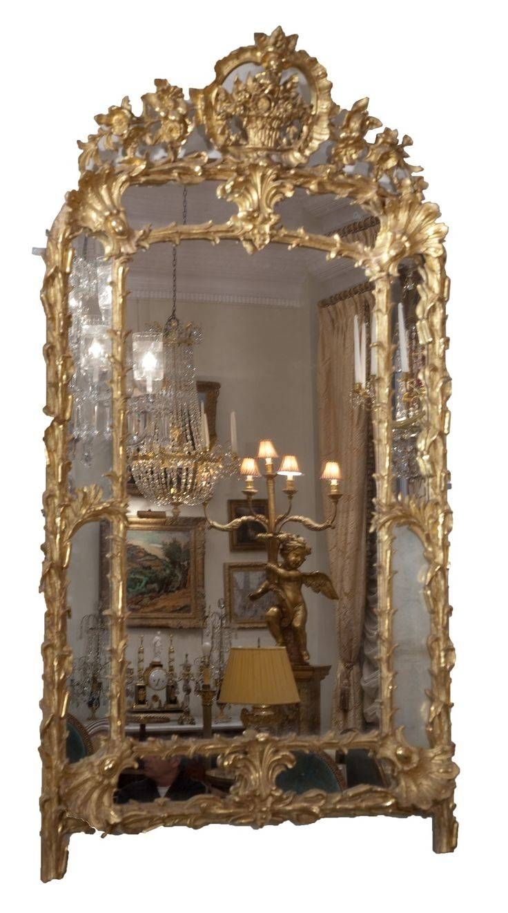 Mirror : X Large Antique Silver Shab Chic Ornate Decorative Wall in Ornate Antique Mirrors (Image 15 of 15)