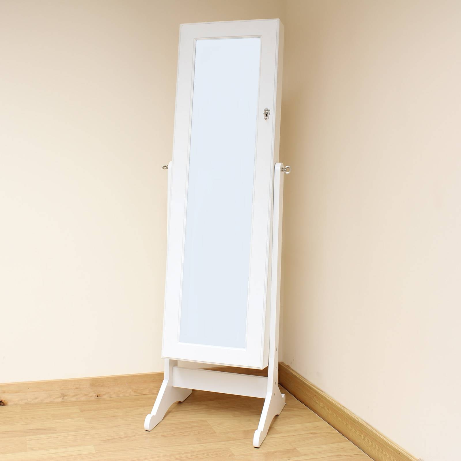 Mirrors. Amazing White Standing Mirror: White-Standing-Mirror-Free inside Full Length Stand Alone Mirrors (Image 10 of 15)