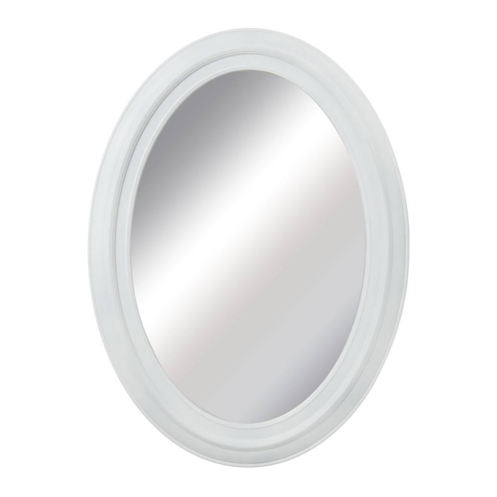Mirrors. Astonishing Oval White Mirror: Oval-White-Mirror-Oval throughout Oval White Mirrors (Image 8 of 15)