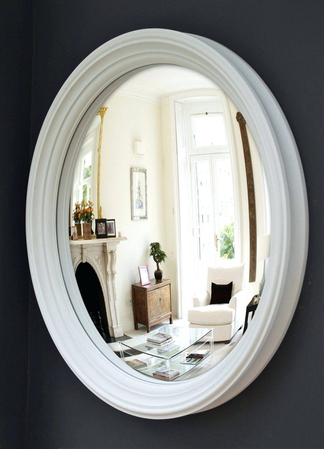 Mirrors : Buy Decorative Convex Mirror Large Decorative Convex With Regard To White Convex Mirrors (View 2 of 15)