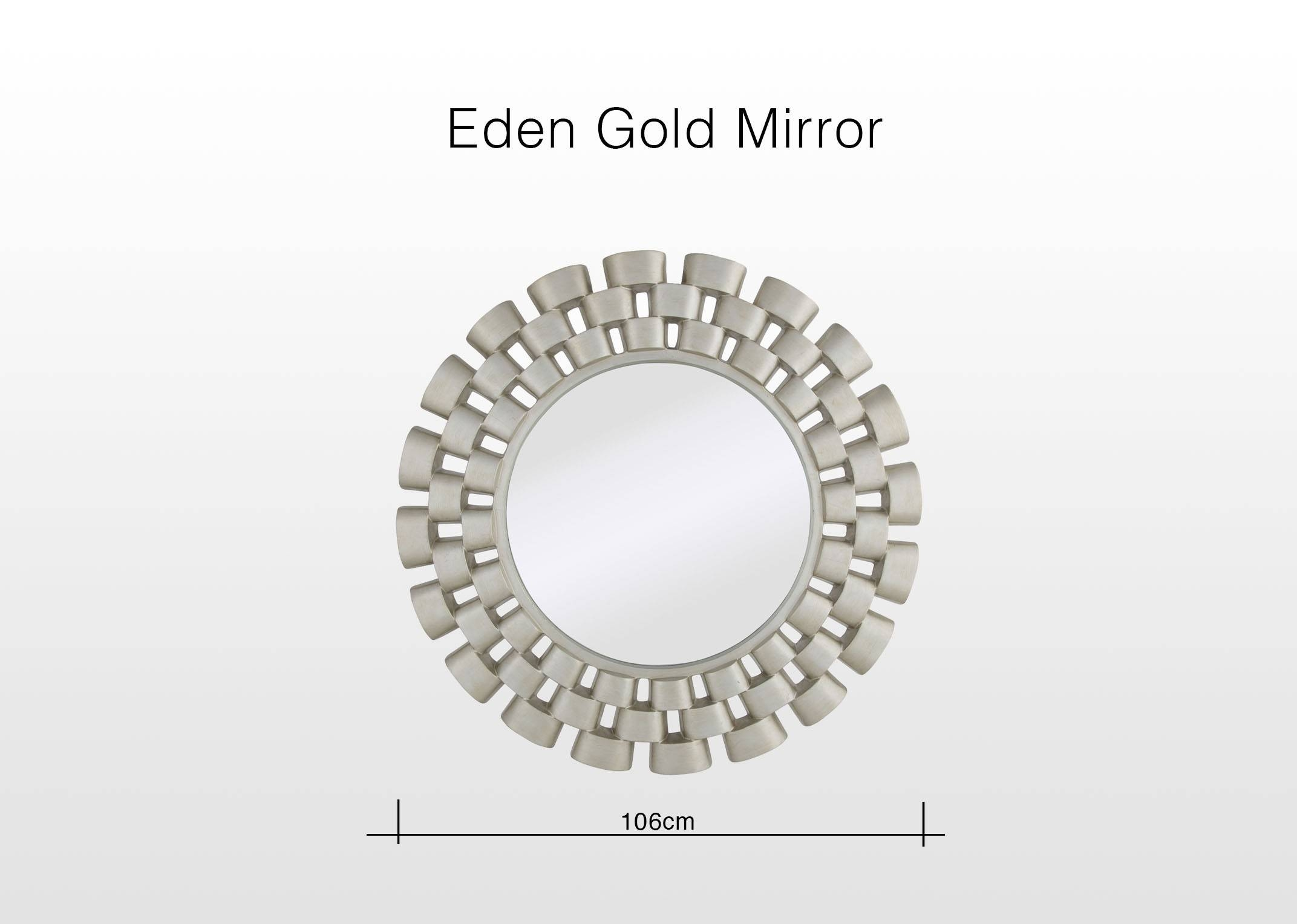Mirrors - Home Accessories - Ez Living Furniture pertaining to Silver Round Mirrors (Image 7 of 15)