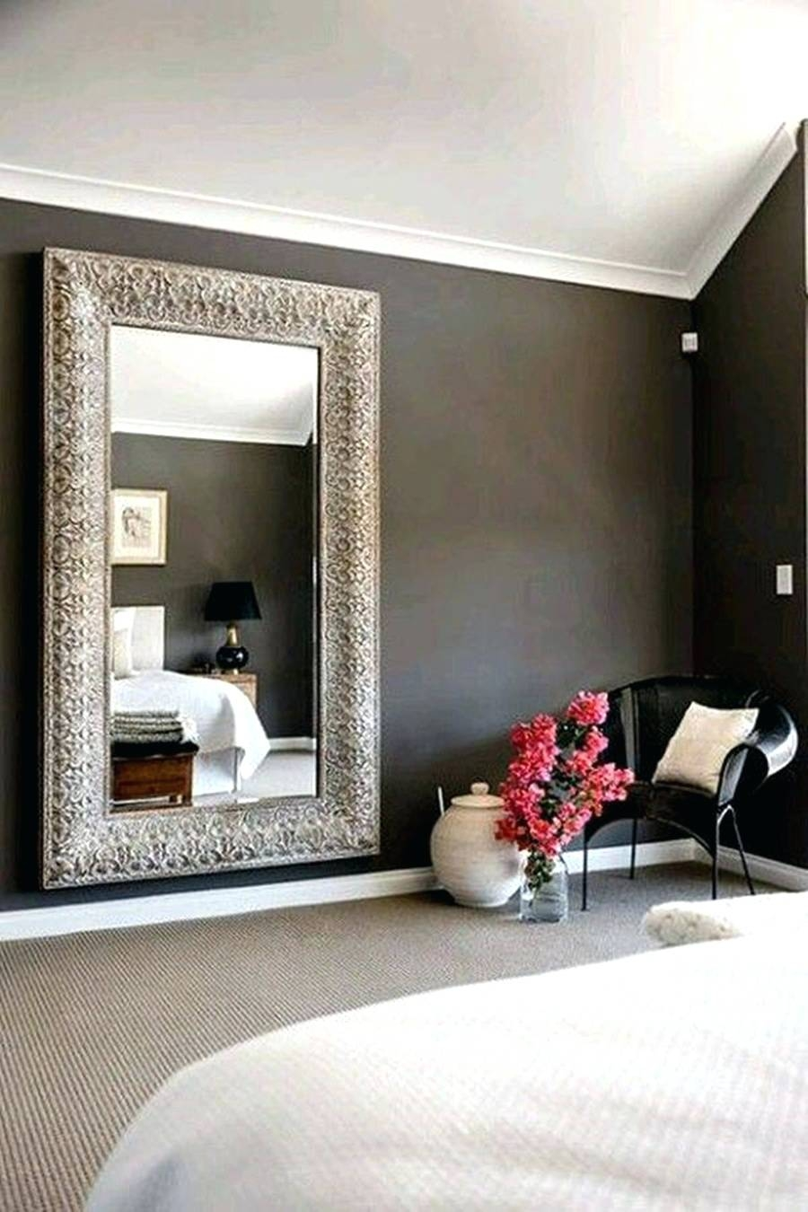 Mirrors : Large Frameless Wall Mirrors Sale Wall Mirrors Large Uk in Very Large Round Mirrors (Image 13 of 15)