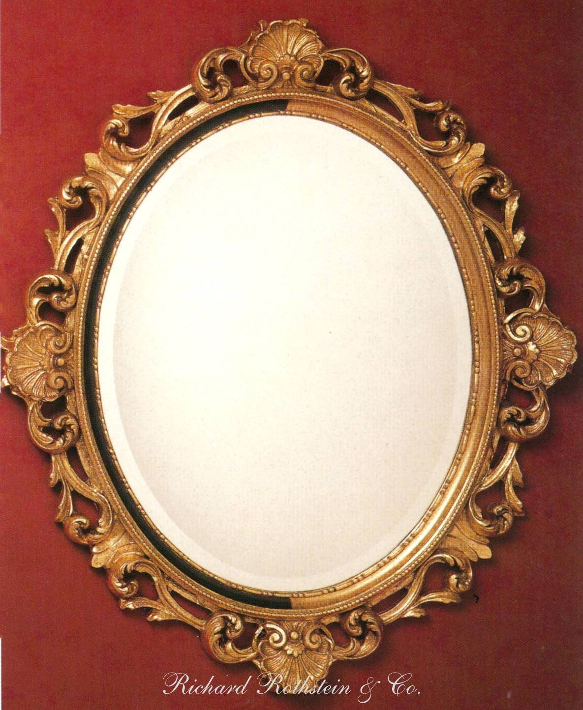 Mirrors : Round Gold Framed Mirrors Gold Circular Mirror Uk Round Pertaining To Large Round Gold Mirrors (View 6 of 15)