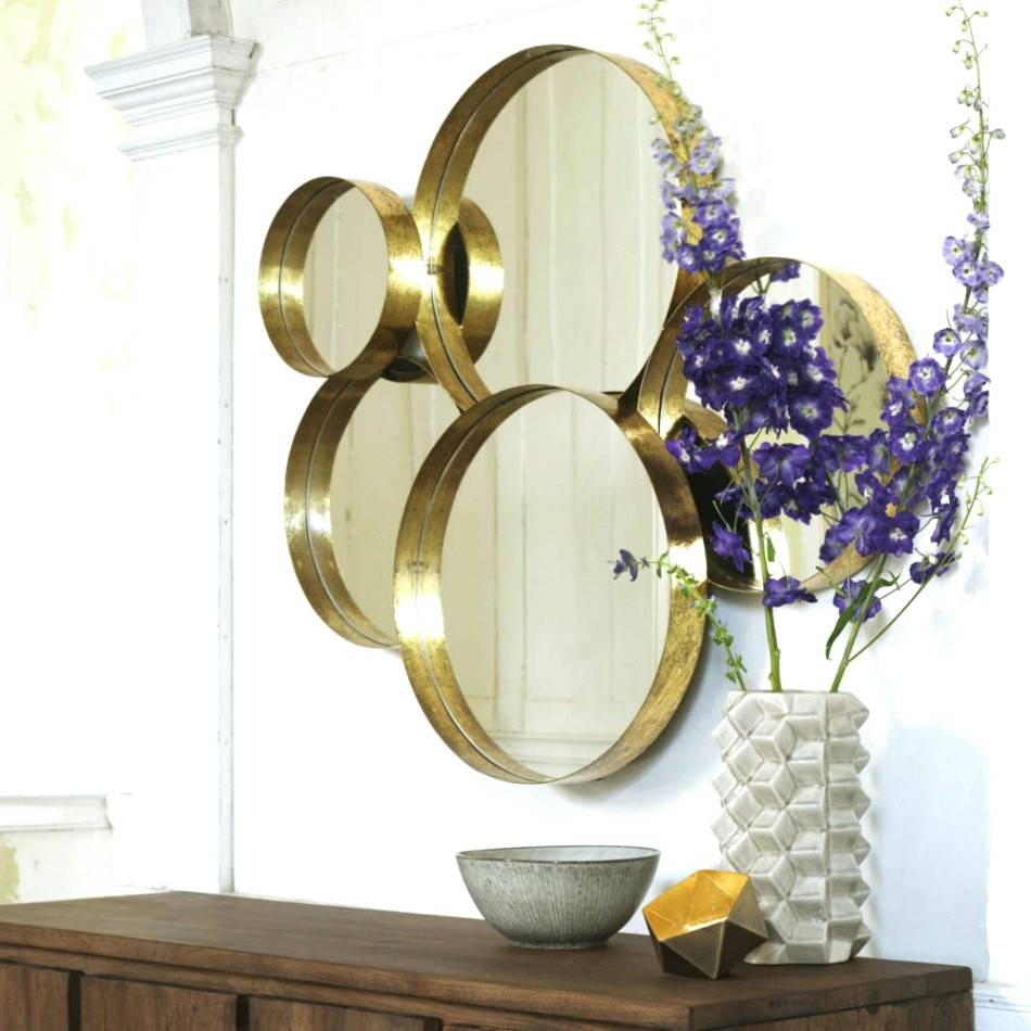 Mirrors : Round Gold Mirrors Decorative Round Gold Mirrors Within Large Round Gold Mirrors (View 15 of 15)