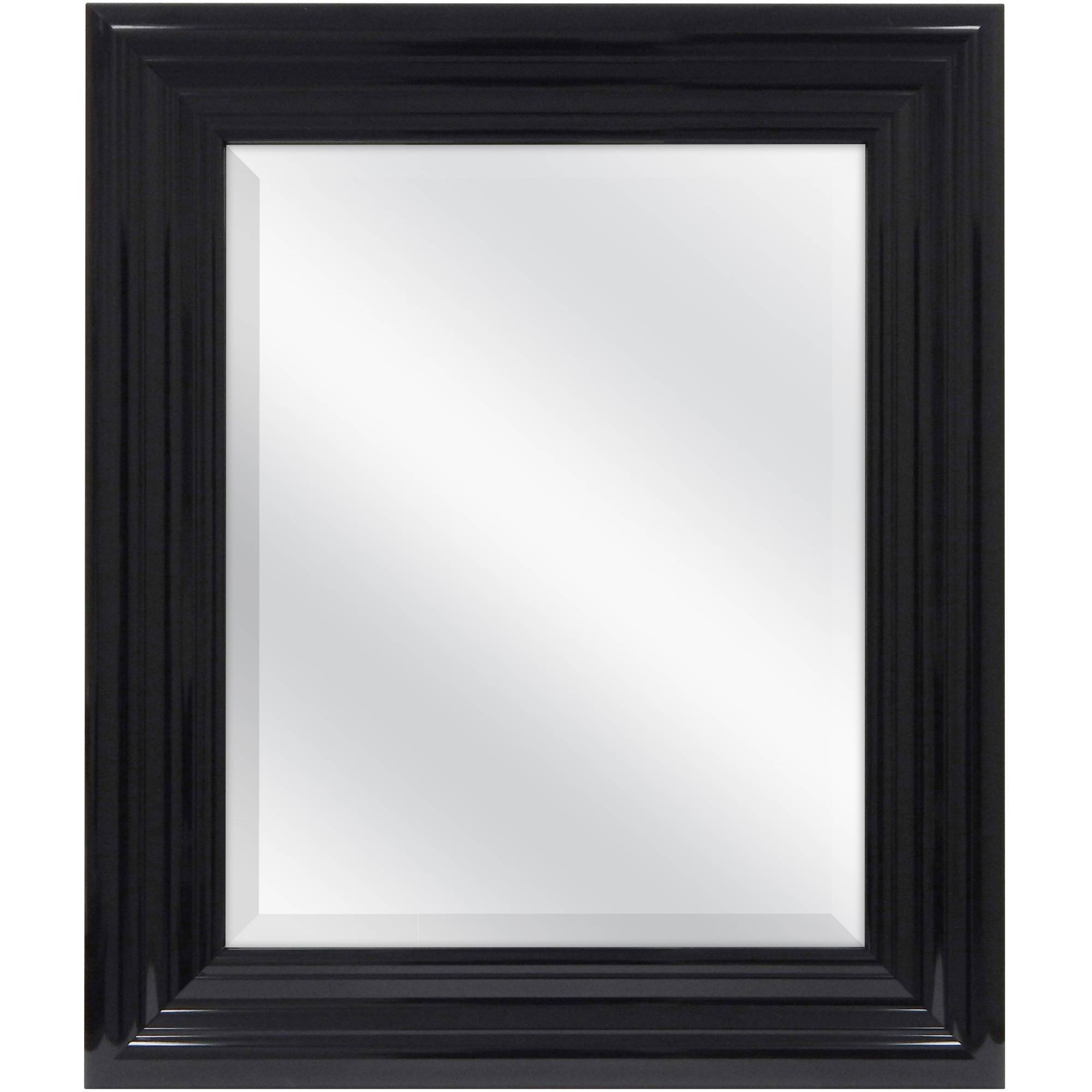 Mirrors - Walmart throughout Long Black Wall Mirrors (Image 11 of 15)
