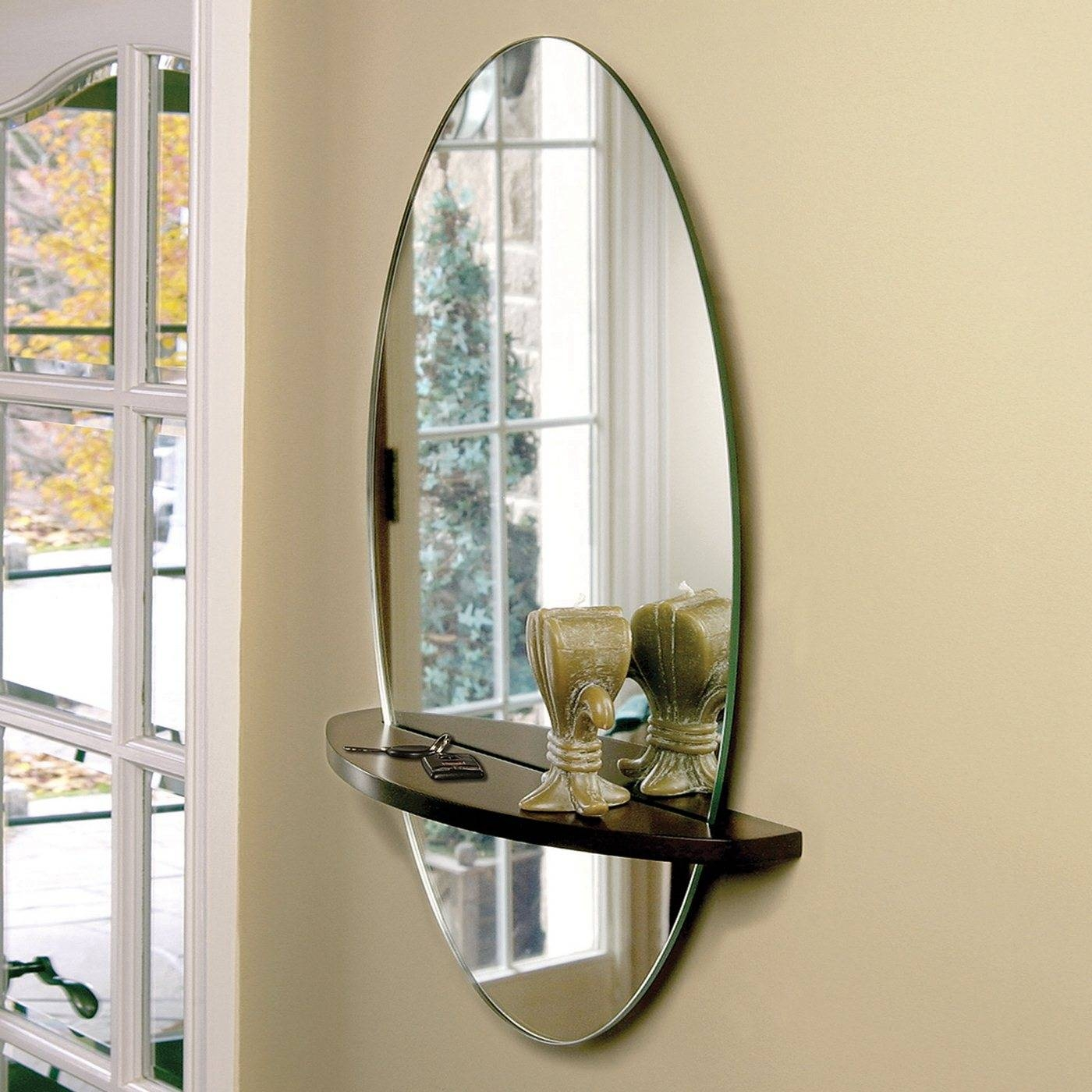 Nexxt Design Reflect Oval Wall Mirror Atg Stores - Dma Homes | #89256 in Modern Contemporary Wall Mirrors (Image 12 of 15)