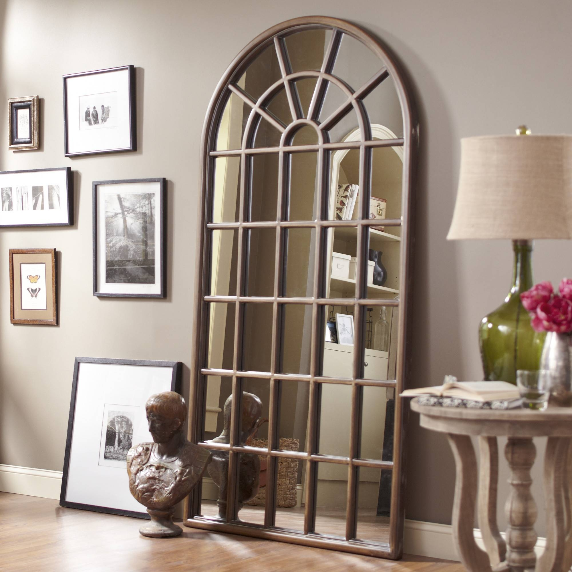 Old Window Into Brilliant Diy Mirror That Will Amaze Everyone with regard to Old Looking Mirrors (Image 13 of 15)