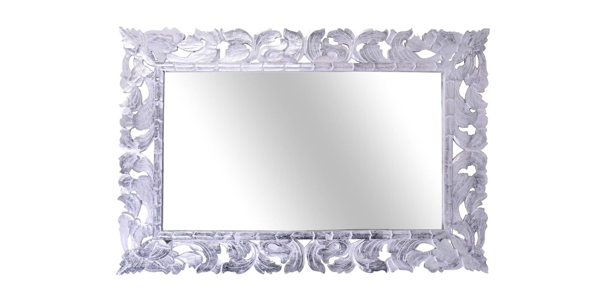 Omnia Craft – Bali – Rectangular Gilded Mirror With Regard To Silver Gilded Mirrors (View 13 of 15)