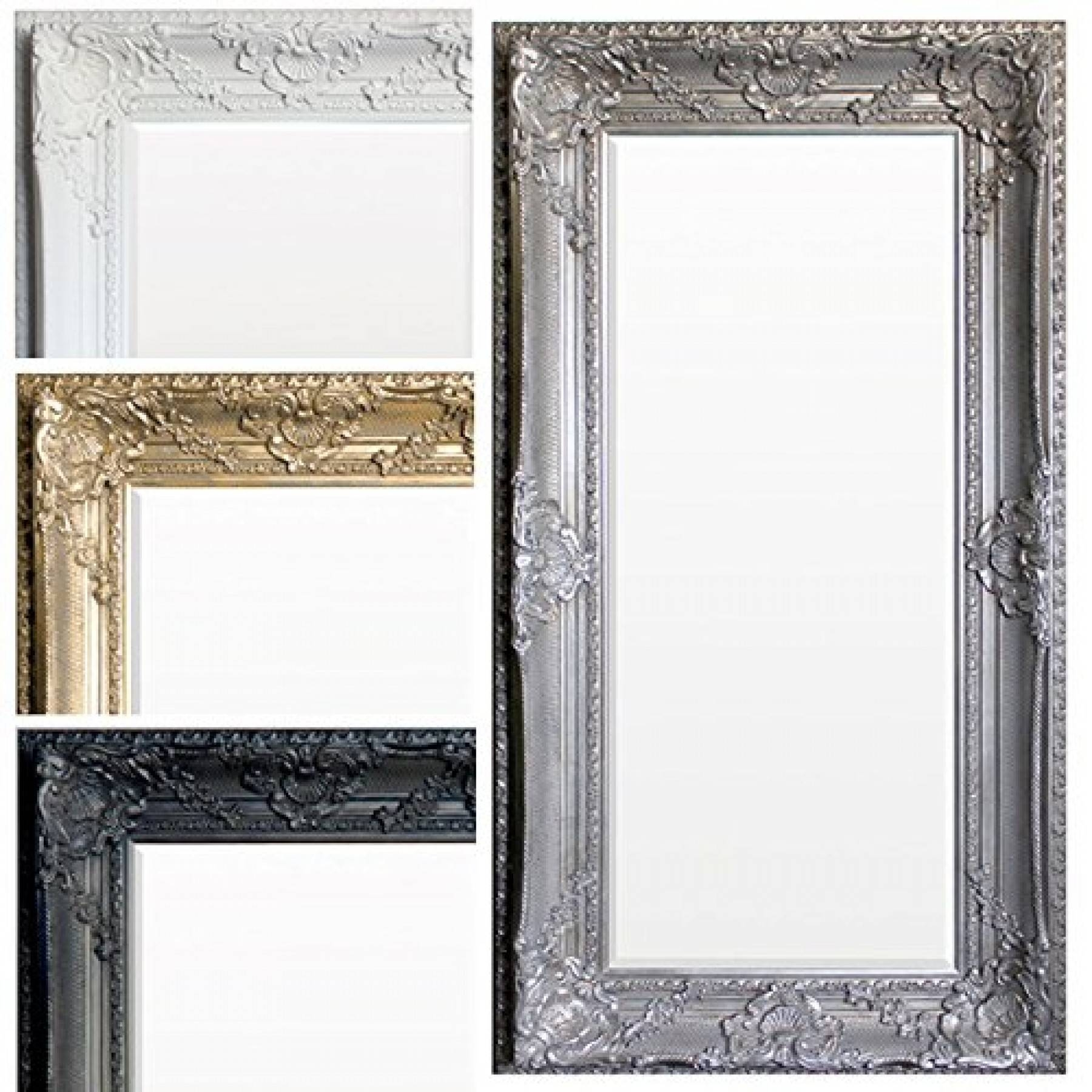 Ornate Shabby Chic Mirror (Extra Large) in Gold Shabby Chic Mirrors (Image 13 of 15)