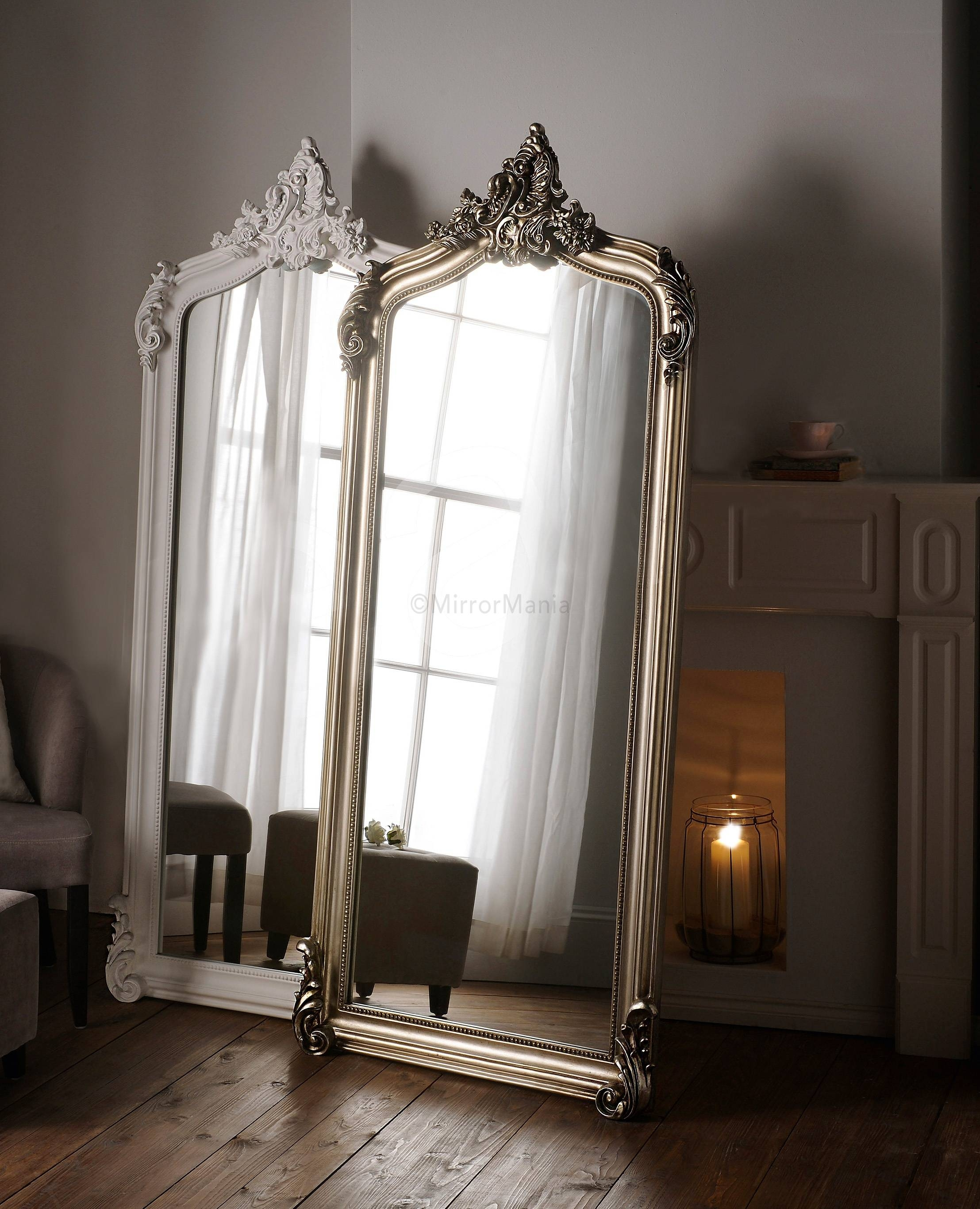 Ornate Swept Framed Full Length Mirror pertaining to Full Length Ornate Mirrors (Image 12 of 15)