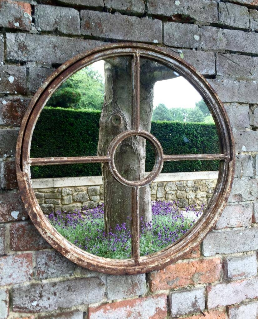 15 Best Ideas Of Outside Garden Mirrors