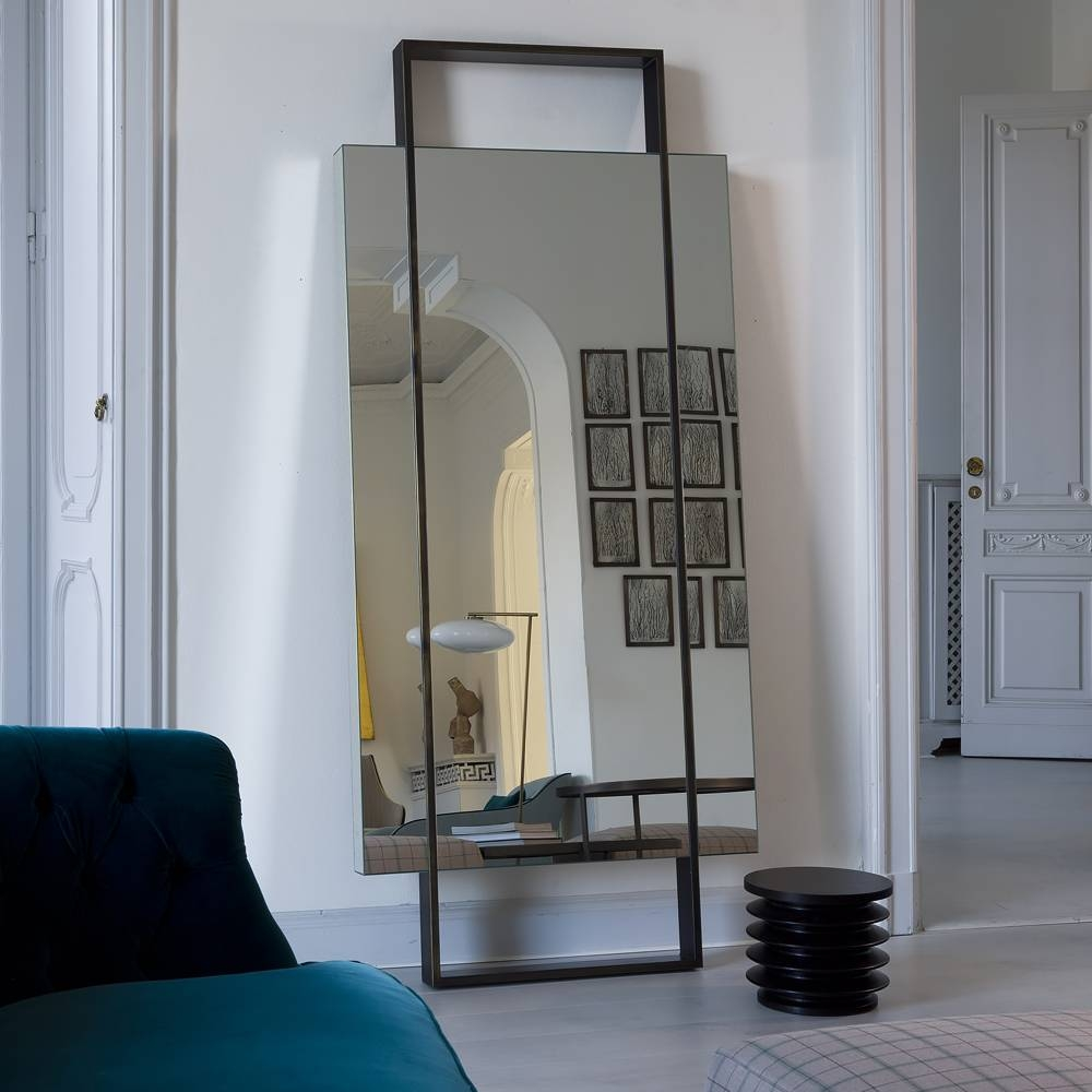 Outstanding Floor Mirrors For Bedroom With Best Ideas About Large inside Floor Dressing Mirrors (Image 15 of 15)