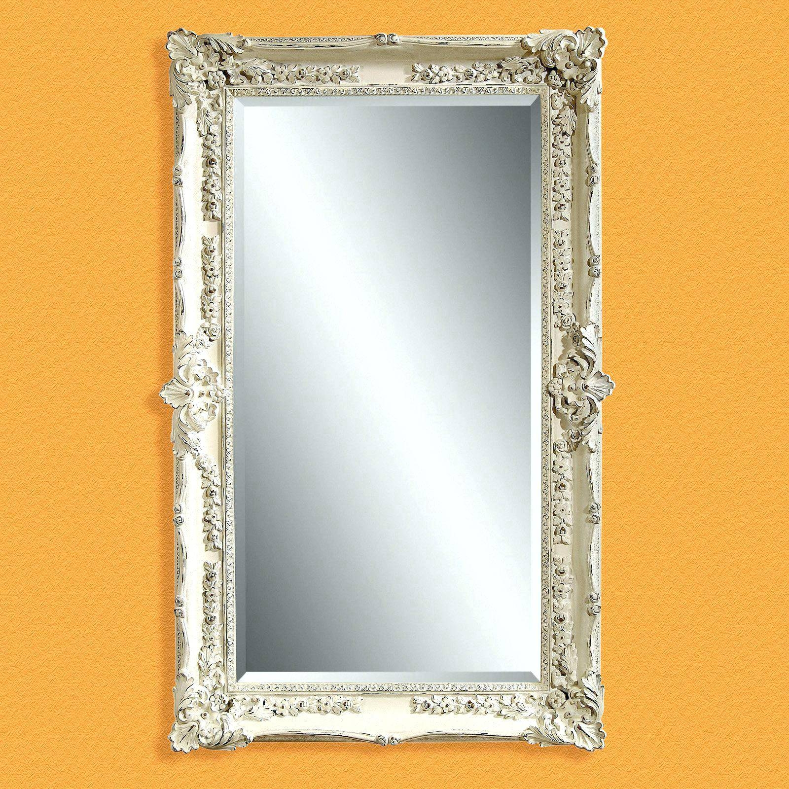Top 15 of large vintage floor mirrors for Oversized mirror