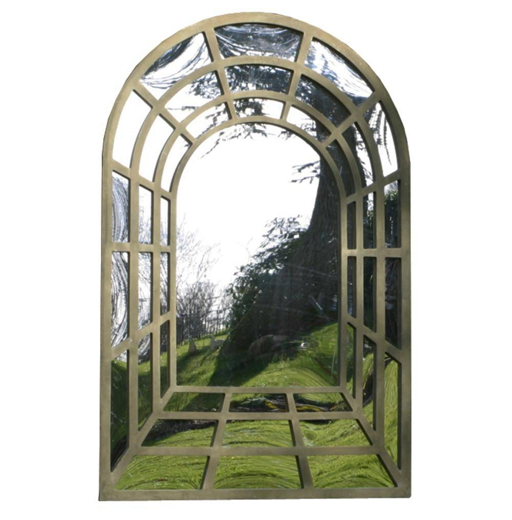 Perspective Outdoor Garden Mirror - Large | Internet Gardener pertaining to Large Outdoor Garden Mirrors (Image 13 of 15)