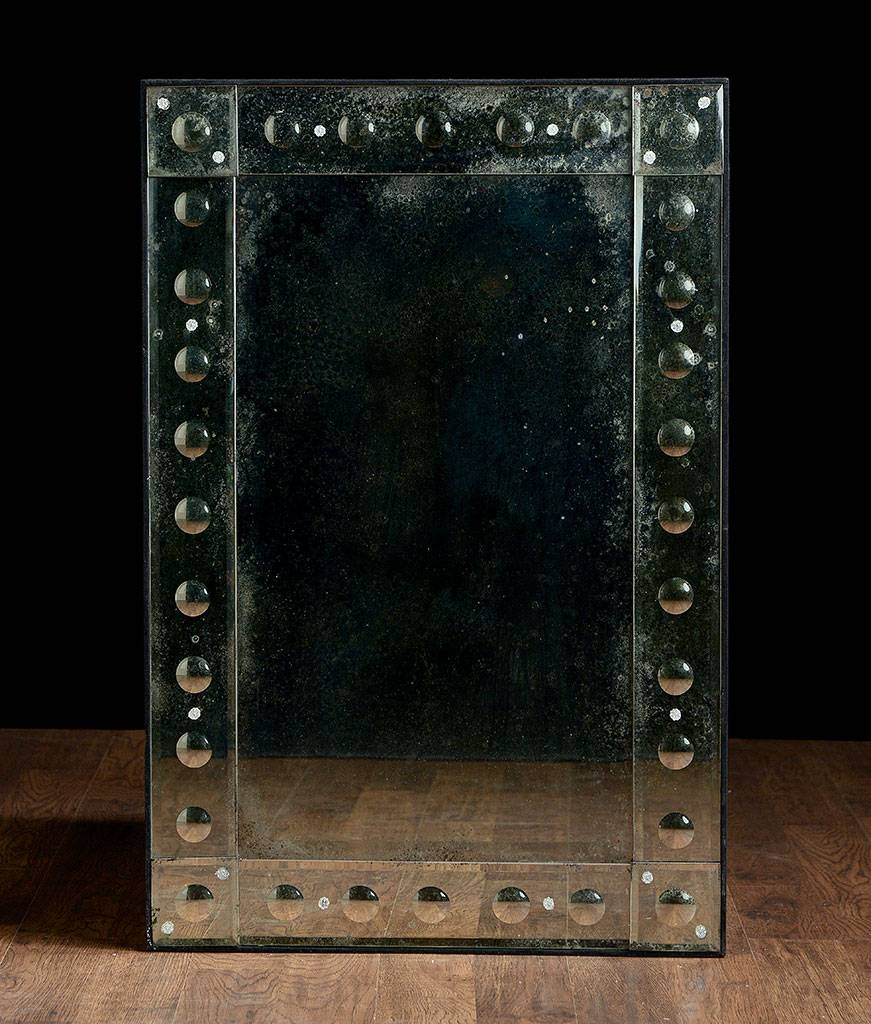 Rectangular Antiqued Aged Venetian Mirror – Mecox Gardens Within Rectangular Venetian Mirrors (View 14 of 15)