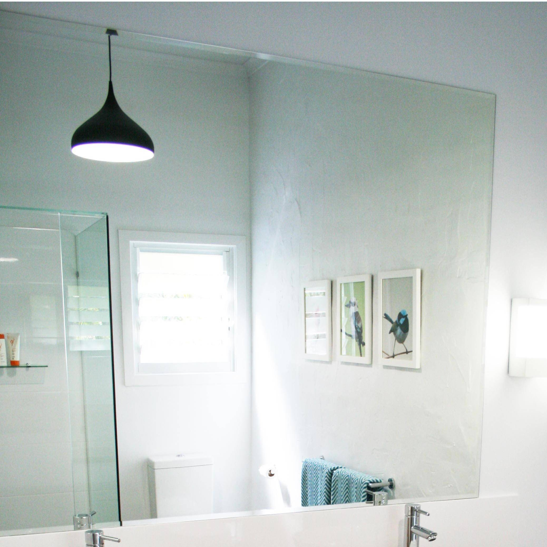 Reflekta Bevelled Edge Mirror 1500X1200Mm | Highgrove Bathrooms for Bevelled Edge Mirrors (Image 15 of 15)