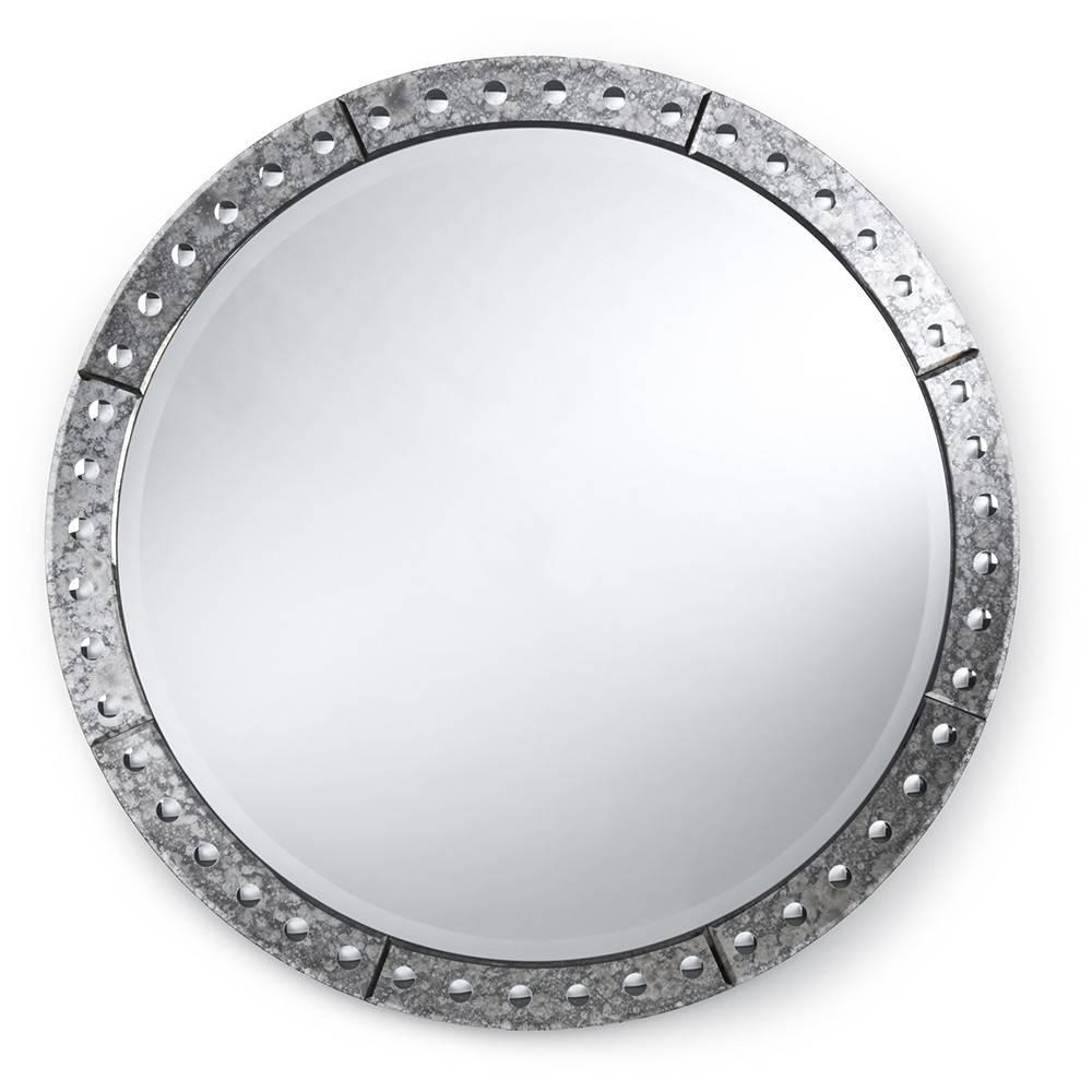 "Regina Andrew Design Venetian Round Mirror – 42"" | Candelabra, Inc (View 2 of 15)"