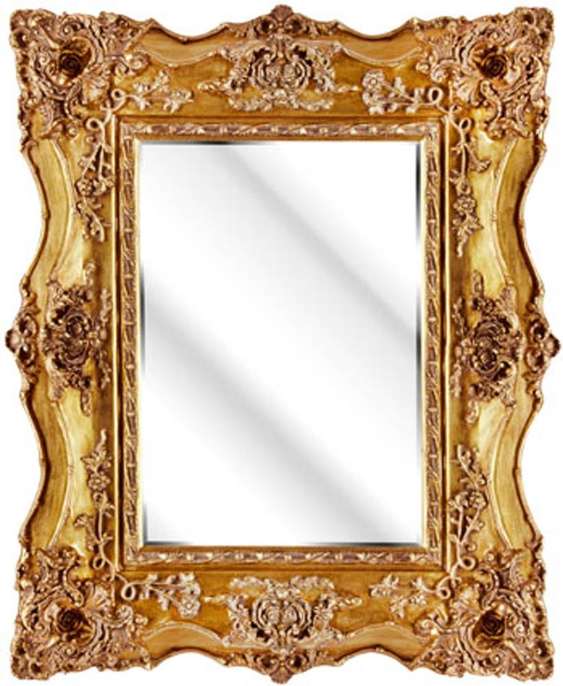 Rich And Splendid Mirrors – In Decors Inside Gold Mirrors (View 4 of 15)