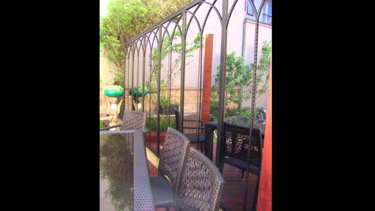 Rivas Design Outdoor Garden Mirrors And Wrought Iron Designs – Youtube Throughout Outside Garden Mirrors (View 10 of 15)
