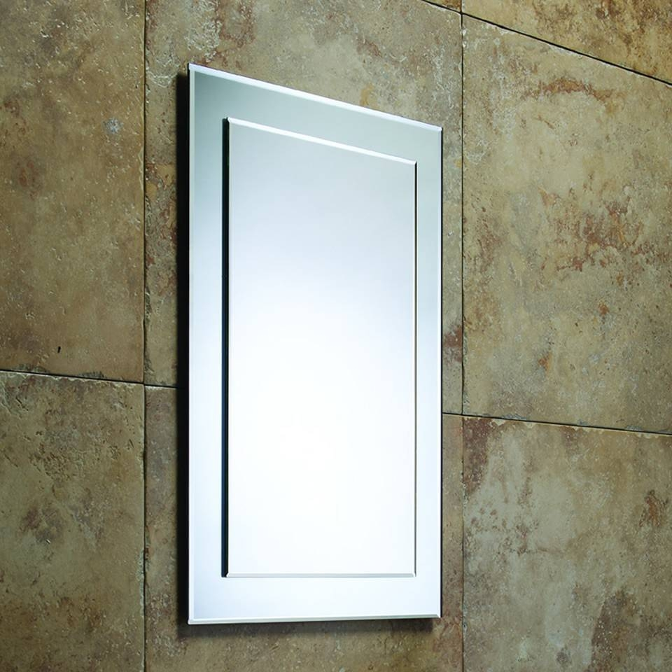 Roper Rhodes Elle Designer Bevelled Bathroom Mirror - 405Mm | Mps403 for Bevelled Bathroom Mirrors (Image 14 of 15)