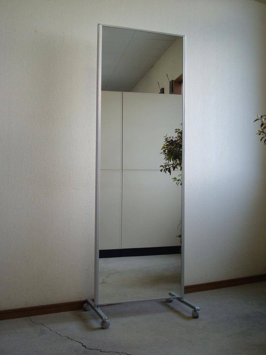 Sanmen | Rakuten Global Market: Packing Fee On Castors Stand pertaining to Large Long Mirrors (Image 14 of 15)