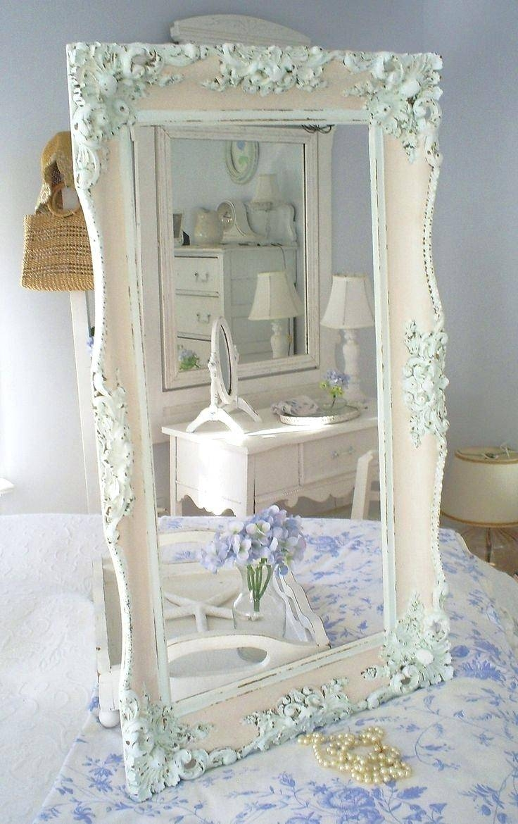 Shabby Chic Bathroom Ideas And Decor Designsshabby Mirrors Uk Wall Throughout Shabby Chic White Mirrors (View 11 of 15)
