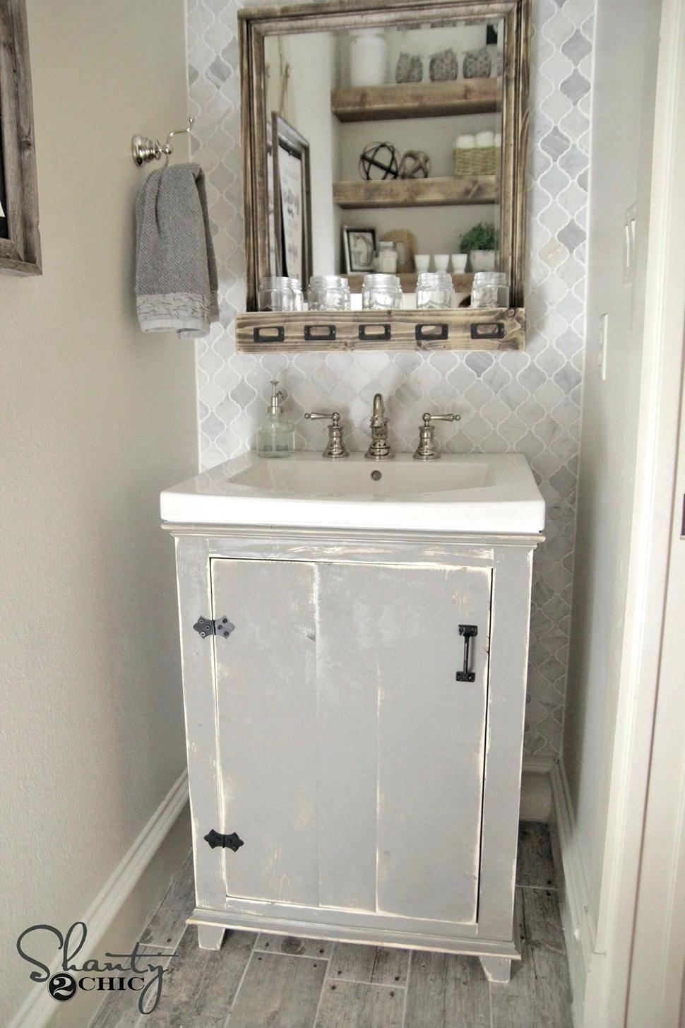 Shabby Chic Bathroom Mirror – Hondaherreros Pertaining To Shabby Chic Bathroom Mirrors (View 13 of 15)