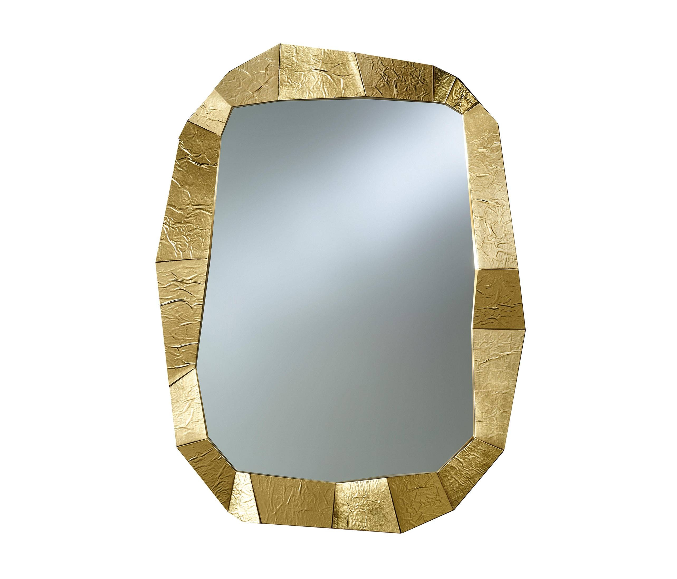 Shift Gold – Mirrors From Deknudt Mirrors | Architonic Within Gold Mirrors (View 8 of 15)